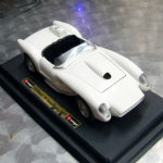 BURAGO 1:24 Ferrari 250 Testarossa 1957 rare white Diecast model car @SOLD@ (1)